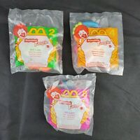 1996 MCDONALD'S HAPPY MEAL 3 Toys TANGLE 2 4 8 TWIST A ZOID  NEW IN PACKAGE NIB