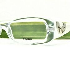 Brand New Fendi Eyeglasses Clear/White 847 971 Authentic 51-16-135