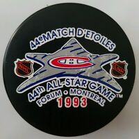 1993 44st ALL STAR GAME PUCK MONTREAL CANADIENS NHL VINTAGE  TRENCH FORUM ARENA