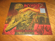 "AUTOPSY ""Tourniquets, Hacksaws and Graves"" LP death abscess exhumed"