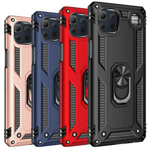 For LG K92 5G Case Ring Stand Armor Shockproof Holder Hybrid Protection Cover