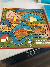 Vintage Snoopy Come Home Board Game Milton Bradley 1966 Schulz Charlie Brown