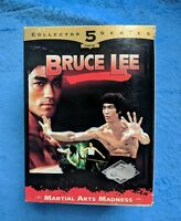 BRUCE LEE 5 VHS Tape Set Martial Arts Madness Fists Of Fury Chinese Connection