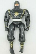 Vintage Mighty Morphin Power Rangers Movie Black Ninja Adam 1995 Bandai