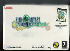 GameCube NINTENDO FINAL FANTASY CHRONICLES Cable Boxed Factory sealed PAL New