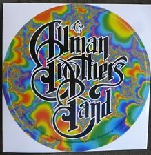 Allman Brothers Band Licensed Sticker rare 1999 nos
