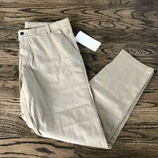 Lululemon Men's Commission Pant Classic TAN / SAND LM544OS Size 38 X 32 NWT $128