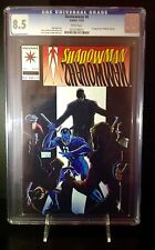 Shadow man #8 (CGC 8.5 VF+) 1992 1st Series first appearance of Master Darque