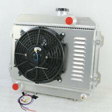 2 ROW RADIATOR +FAN +RELAY For TOYOTA COROLLA KE30 KE35 KE38 KE55 KE70 1974-1985
