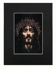Jesus Christ God 8x10 matted Art Print Printed Poster Decor picture Gift Artwork