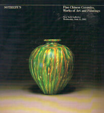 SOTHEBY'S Fine Chinese Ceramics Bronzes Jades Lacquer Paintings WOA Catalog 1983