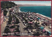 SAVONA CERIALE 19 CAMPEGGIO CAMPING Cartolina FOTOGRAFICA viaggiata 1961