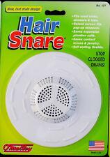 HAIR SNARE TRAP DRAIN CATCHER SINK STRAINER BATHTUB SHOWER WASHER PET FILTER USA