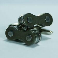 Bicycle Chain Link Cufflinks Wedding Groomsmen Groom Gift