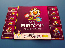 PANINI EURO 2012 - Leeralbum International + 10 Tüten Neu/Top