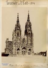 France Chalons Sur Marne Notre Dame de l'Epine  Vintage albumen print,  T