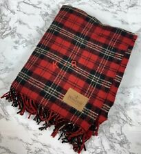 PENDLETON Home Collection Throw Blanket Tartan Plaid Wool Made In US* Read *