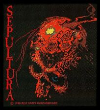 SEPULTURA - BENEATH THE REMAINS - WOVEN PATCH - BRAND NEW - MUSIC 0526