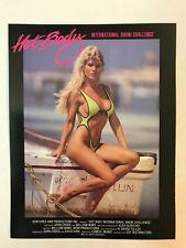 Hot Body Video International Bikini Challenge Tour VHS promo sheet - Sexy Women