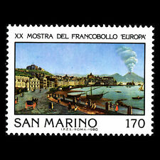 San Marino 1980 - International Philatelic Exhibition Europa - Sc 982 MNH