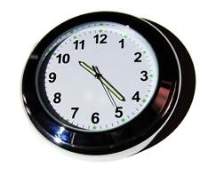 "NEW! British made Time-Rite ""Sixty-Plus"" Car Dashboard Clock - White Clock"