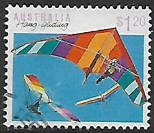 1990 Sports Series II $1.20 Hang Gliding Stamp Used