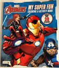 New Avengers My Super Fun Color & Activity Book 30 Stickers