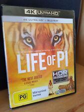 LIFE OF PI 4K UHD BLU-RAY / BRAND NEW / 2 DISC AUS BLURAY / ANG LEE