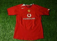 MANCHESTER UNITED 2004/2006 FOOTBALL SHIRT JERSEY HOME NIKE ORIGINAL YOUNG XL