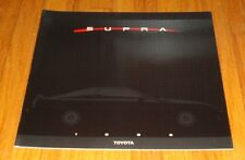 Original 1988 Toyota Supra Deluxe Sales Brochure