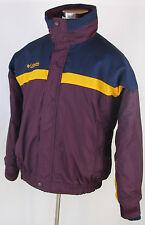 COLUMBIA Bugaboo 3-in-1 Interchange Purple Blue Nylon Poly Winter Jacket, Sz L