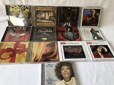 Lot of (13) CDs R&B Souls/rap/ Pop/Whitney Houston/Madonna/Justin Timberlake
