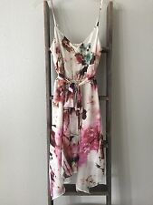 GUESS Size XSmall 0 2 Summer Beach Floral Painted Dress