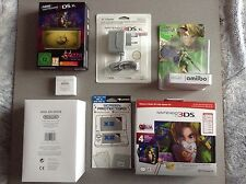 New 3DS XL Legend of Zelda Majora's Mask + Skull Kid + Presse Pap + ... = NEUF