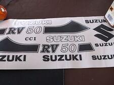 SUZUKI RV50 COMPLETE SET OF TRANSFERS