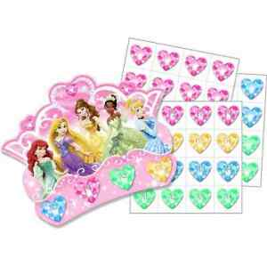 Disney Very Important Princess Kids Birthday Party Favor Activity Pin Game