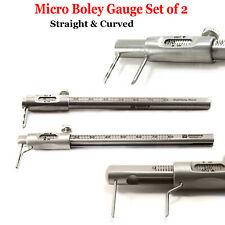 Dental Micro Boley Gauge Marking Teeth Size Measuri Orthodontic Implant Surgical