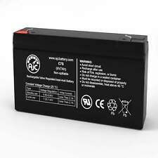 Long Way LW-3FM7 6V 7Ah Sealed Lead Acid Replacement Battery