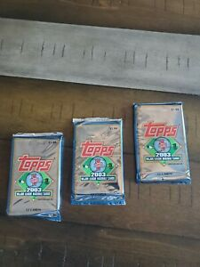 2003 Topps Baseball Series 1 (3 PK'S /12 CARDS PER PACK) FACTORY SEALED GREAT!