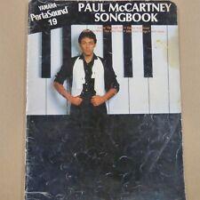 Gli organi Yamaha Portasound 19/Paul McCartney Songbook