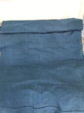 *drap Paysan ancien en lin teint Bleu Indigo old dyed linen Indigo Blue