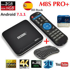MECOOL M8S PRO+ 4k Android 7.1 Amlogic S905X Smart TV Box 2GB/16GB HDR+Keyboard