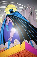 """Original Bob Kane """"Batman"""" Stone Lithograph Print"""