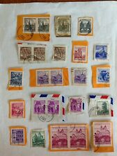 Lot of 24 Austria stamp~1958-1970~Melk Abbey~Airport~castle~Graz ~dragon fountain