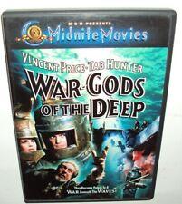 WAR-GODS OF THE DEEP DVD Roger Corman Vincent Price Tab Hunter Susan Hart