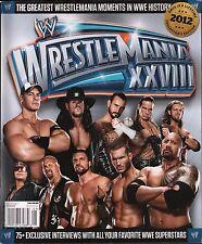 WWE Wrestlemania XXVIII June 2012 John Cena, Undertaker EX 123115DBE