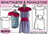 "Shirt + Kleid ""Paula"" pdf.Schnittmuster und Nähanleitung Gr.:34-52"