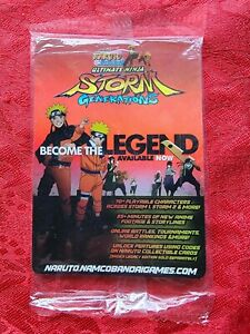 Naruto Ultimate Ninja Storm Generations CCG trading cards 2012 SDCC pack SEALED