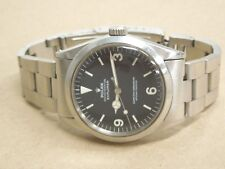 VINTAGE 1970 ROLEX OYSTER PERPETUAL EXPLORER 1 1016 WATCH/ORIGINAL BRACELET