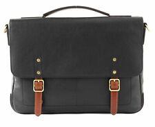 FOSSIL Defender Portfolio Bürotasche Umhängetasche Tasche Black Schwarz